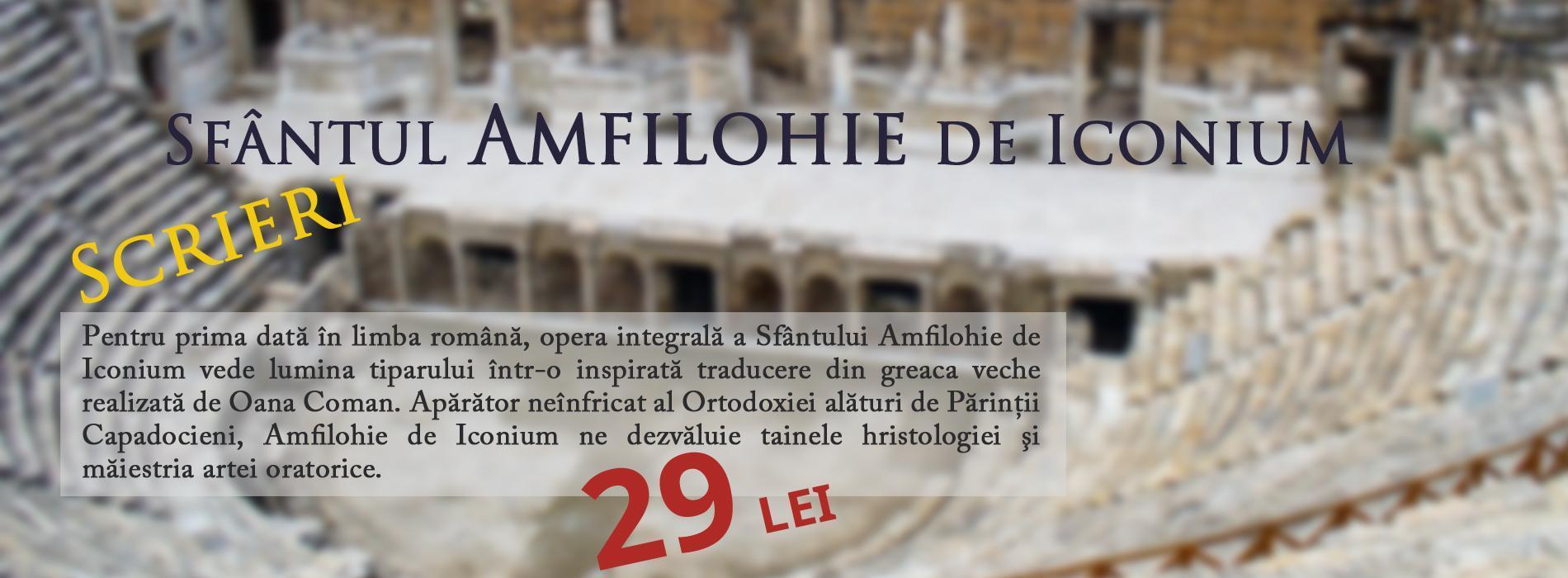 Scrieri, Sfântul Amfilohie de Iconium