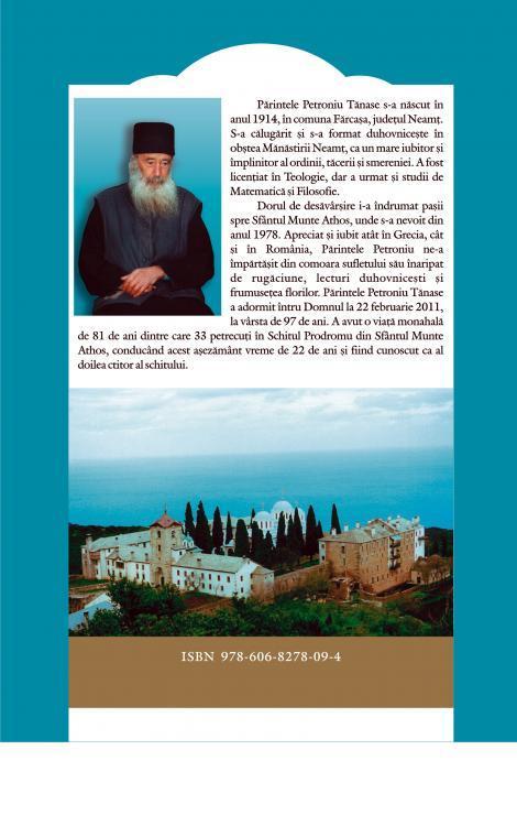 Ușile pocăinței. Meditații duhovnicești la vremea Triodului - Protos. Petroniu Tănase