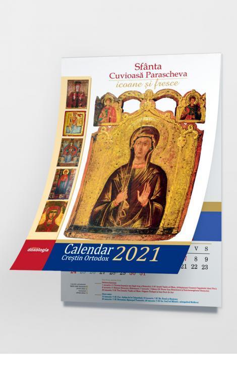 Calendar 2021 cu icoane: Sfânta Cuvioasă Parascheva