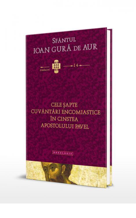 Cele șapte cuvântări encomiastice în cinstea Apostolului Pavel, Alexandru Prelipcean