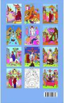 Carte de colorat icoane pentru copii