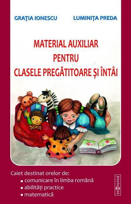 Material auxiliar pentru clasele pregătitoare și întâi