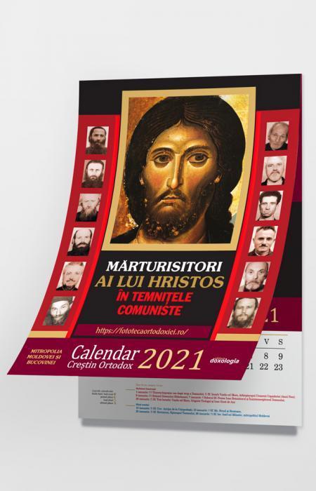 Calendar Creștin Ortodox 2021 - Mărturisitori ai lui Hristos în temnițele comuniste